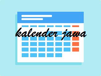 Kalender Jawa Untuk Bulan April 2021 Masehi